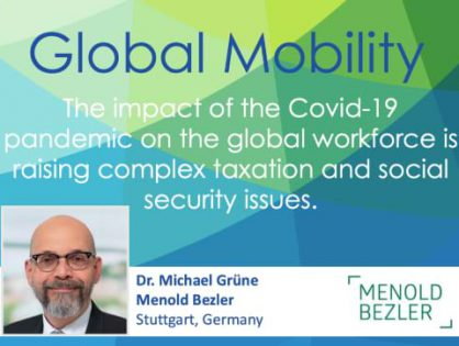 Have you considered the impact of Covid-19 on the taxation of remuneration for the global workforce?