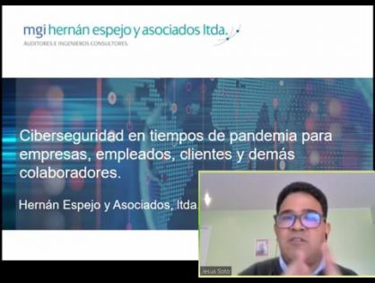 Cybersecurity in times of pandemic: MGI Hernán Espejo IT expert shares his thoughts