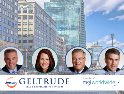 Forward-thinking New Jersey firm Geltrude & Company becomes latest member to join MGI Worldwide in the North America region!