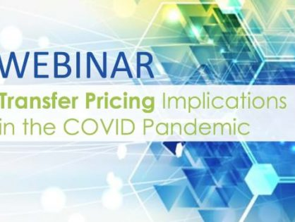 Learn more about the basic rules of transfer pricing and the expected application in the periods of COVID-19 with our latest webinar